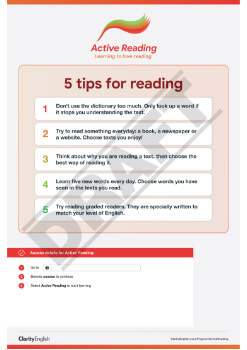 5 tips for reading