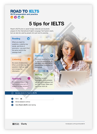 5 tips for IELTS